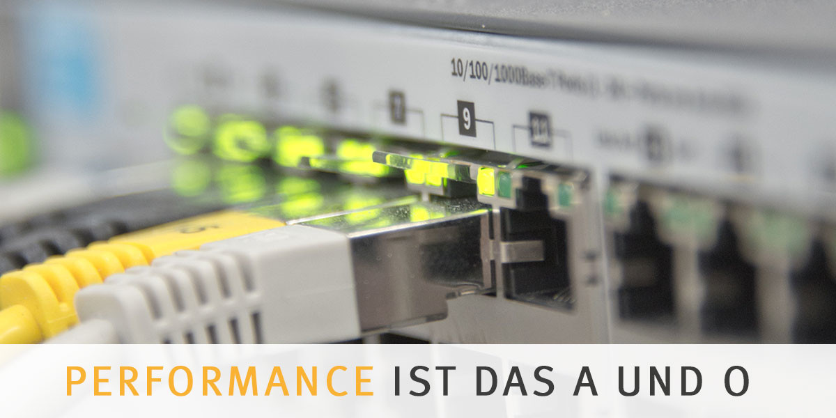 Netzwerk Performance - IT-Infrastruktur
